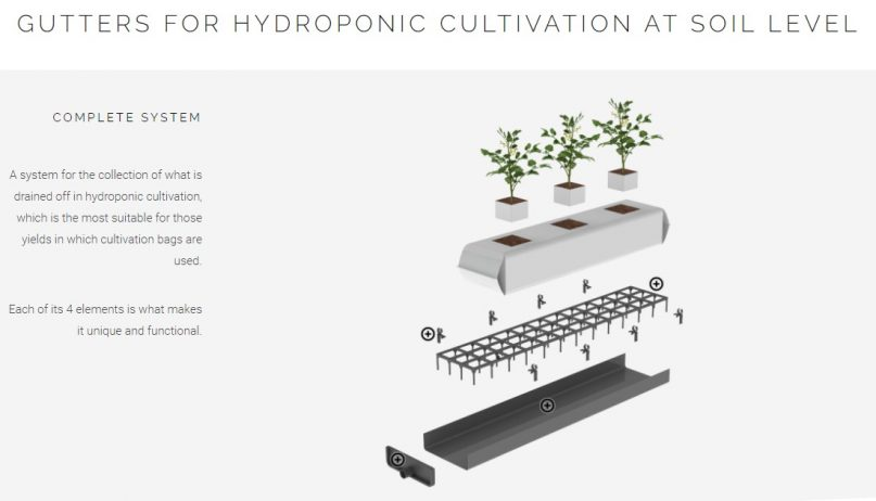 Hydroponic-Gutter-System